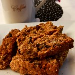 Buttermilk and Wholewheat Rusks or Breakfast Healthbars