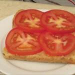 Homemade_fish_paste_and_tomato_on_whole_grain_toast_fresh_tomato