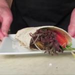 Yiros  wrap  salad