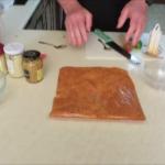Yiros meat marinading