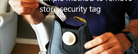 Simple method to remove store security tag