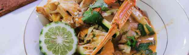 Keto diet Thai seafood curry recipe