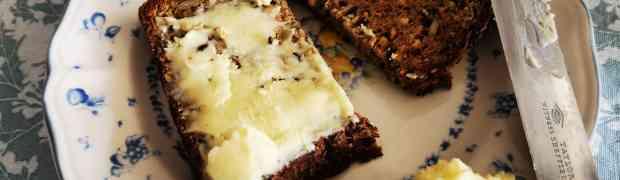 Homemade butter the keto super fat.
