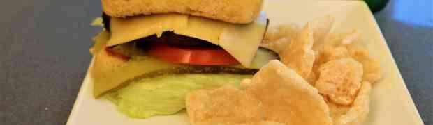 Best keto gluten free burger bun just 90 seconds in microwave